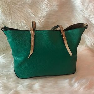 Handbags - Parfois Turquise Green Tote Shoulder Bag